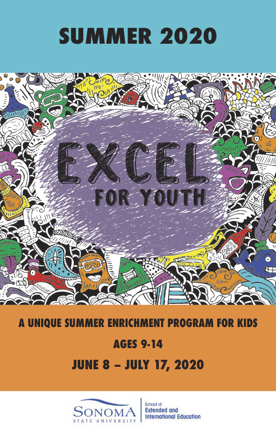 Summer 2020 EXCEL for Youth Catalog